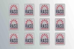 Polimeriniai lipdukai kasos aparatams RASO