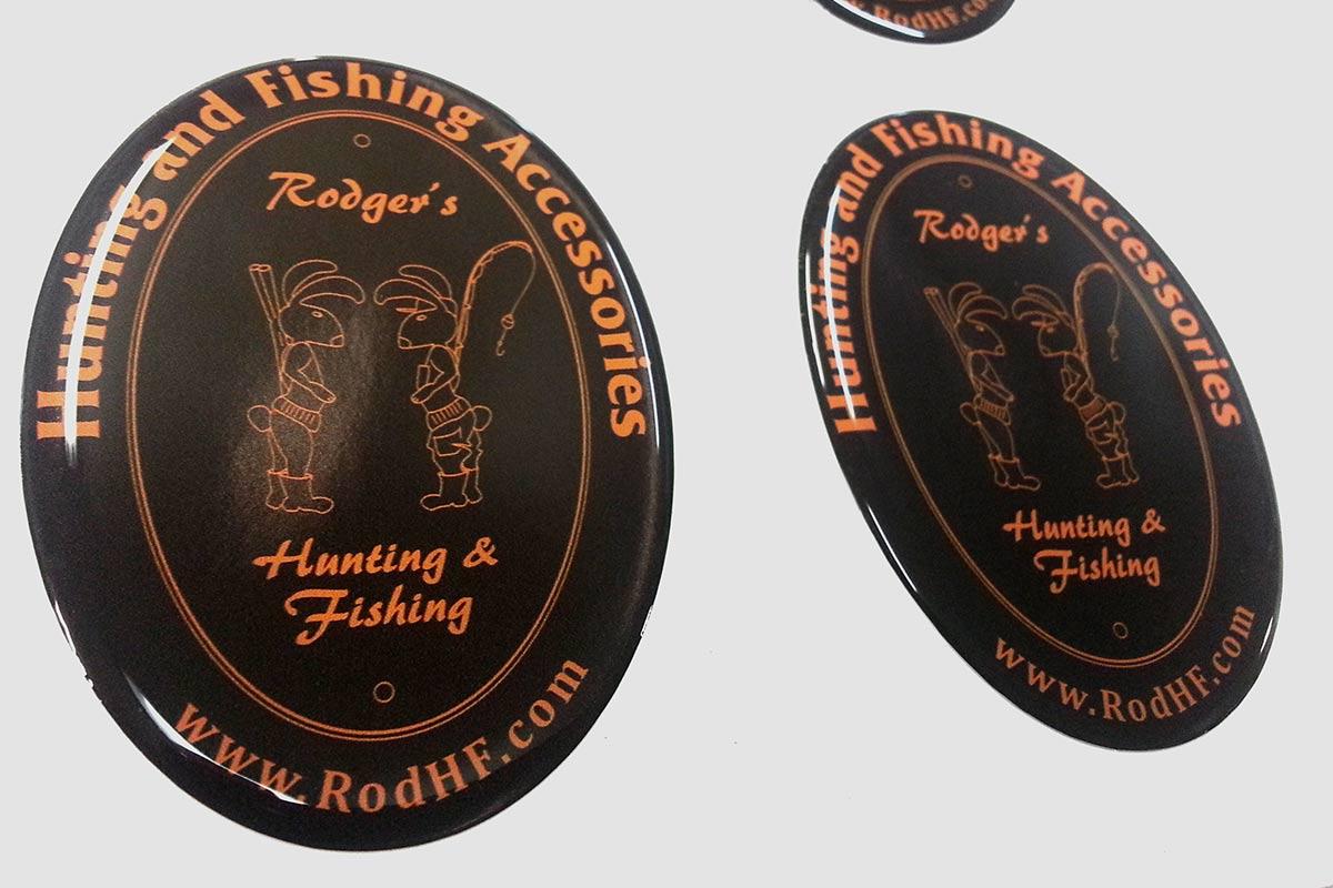Polimerinis-iskilus-lipdukas-automobiliui-Rodger-s-Hunting-Fishing