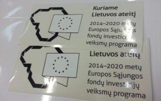 Lipdukai-automobiliams-ES-paramos-viesinimui